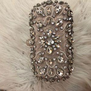 Beautiful handmade Jeweled wedding clutch